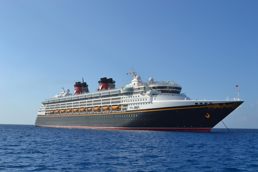and pixie dust coming aboard the Disney Magic when the Disney Cruise ...