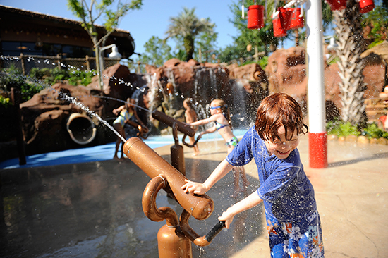 Water Play Areas at Disney World