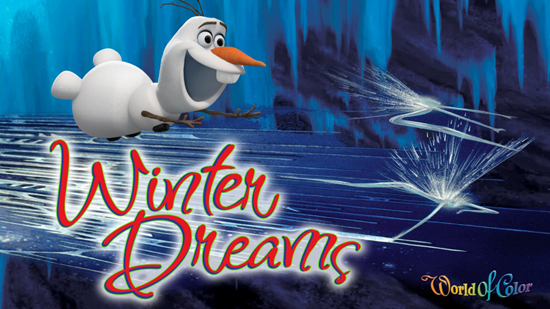sing in world of color- winter dreams