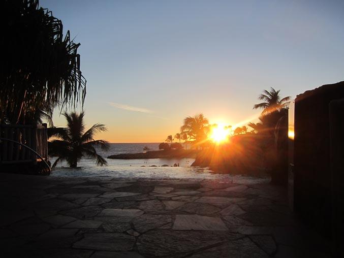 aulani sunset 1
