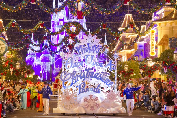 once upon a christmastime parade