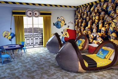 despicable me rooms at portofino