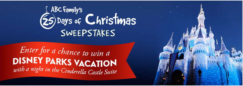 25 days of christmas sweeps