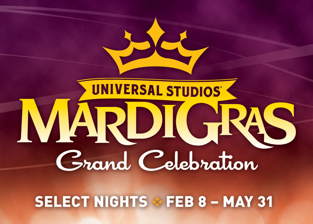 Mardi Gras 2014 Logo with Dates