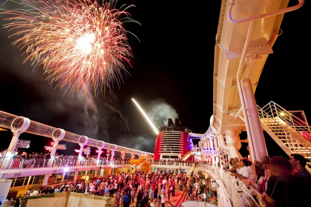 fireworks dcl