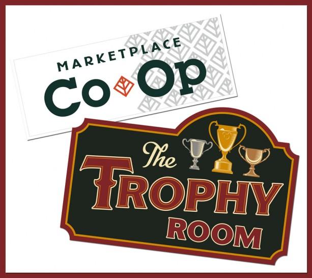 the trophy room logo