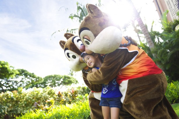 chip and dale at aulani