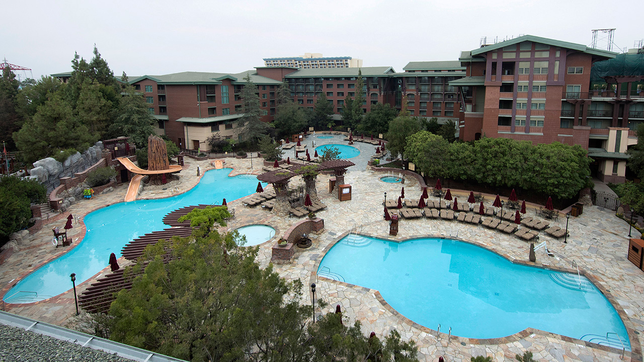 Disney Grand Californian Hotel Pool