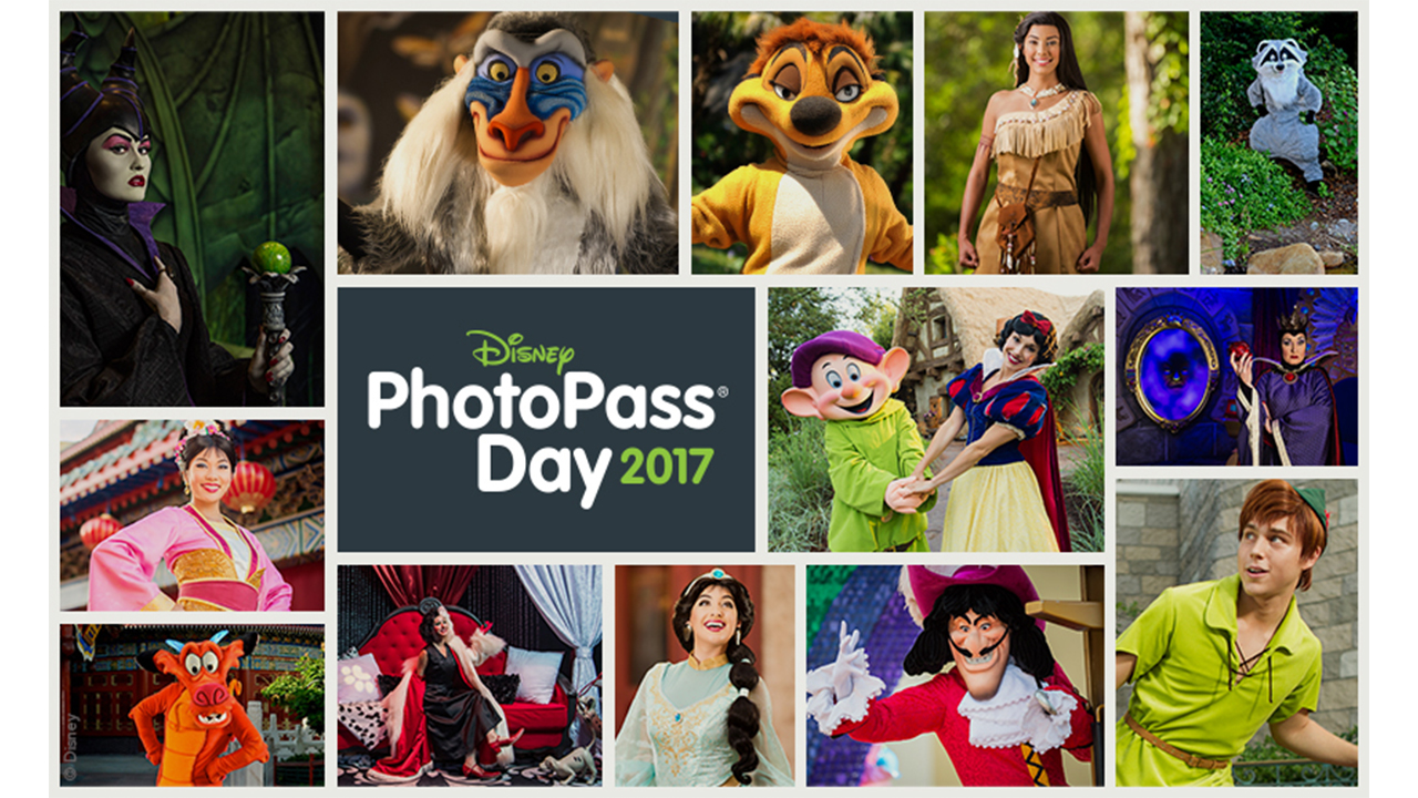 Disney PhotoPass Day 2017