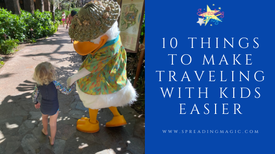 10 things to make traveling with kids easier