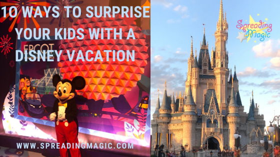 surprise Disney vacation