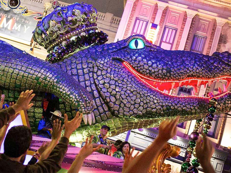 Universal's Mardi Gras 2020