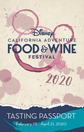 2020 Disney California Adventure Food & Wine Festival