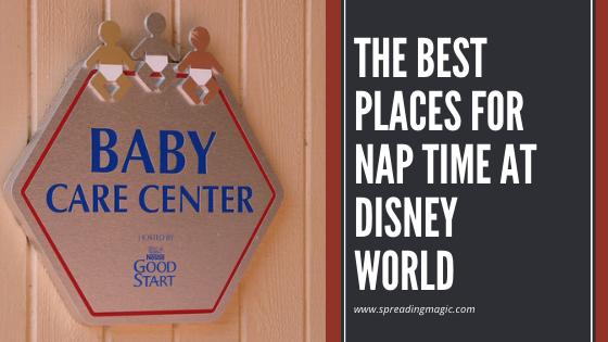nap time at Disney World