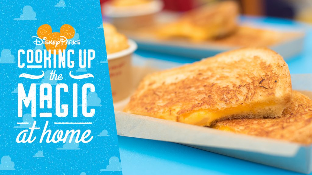 Grilled Three-Cheese Sandwich Recipe