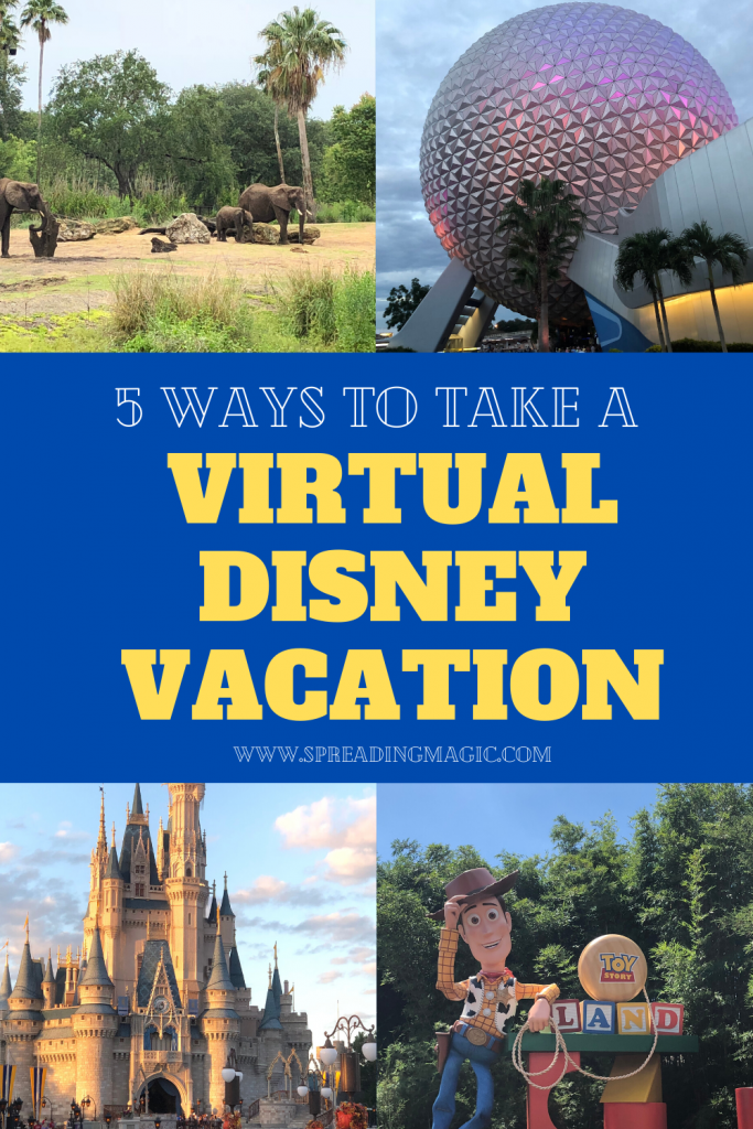 Virtual Disney Vacation