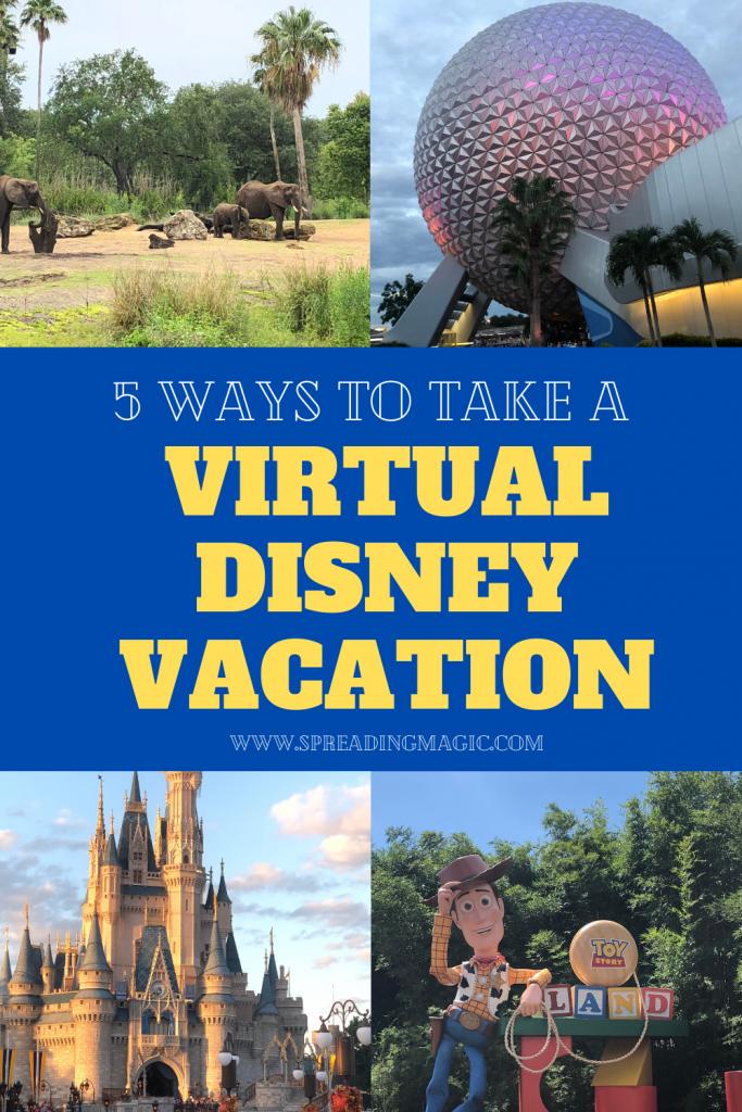Virtual Disney Vacation