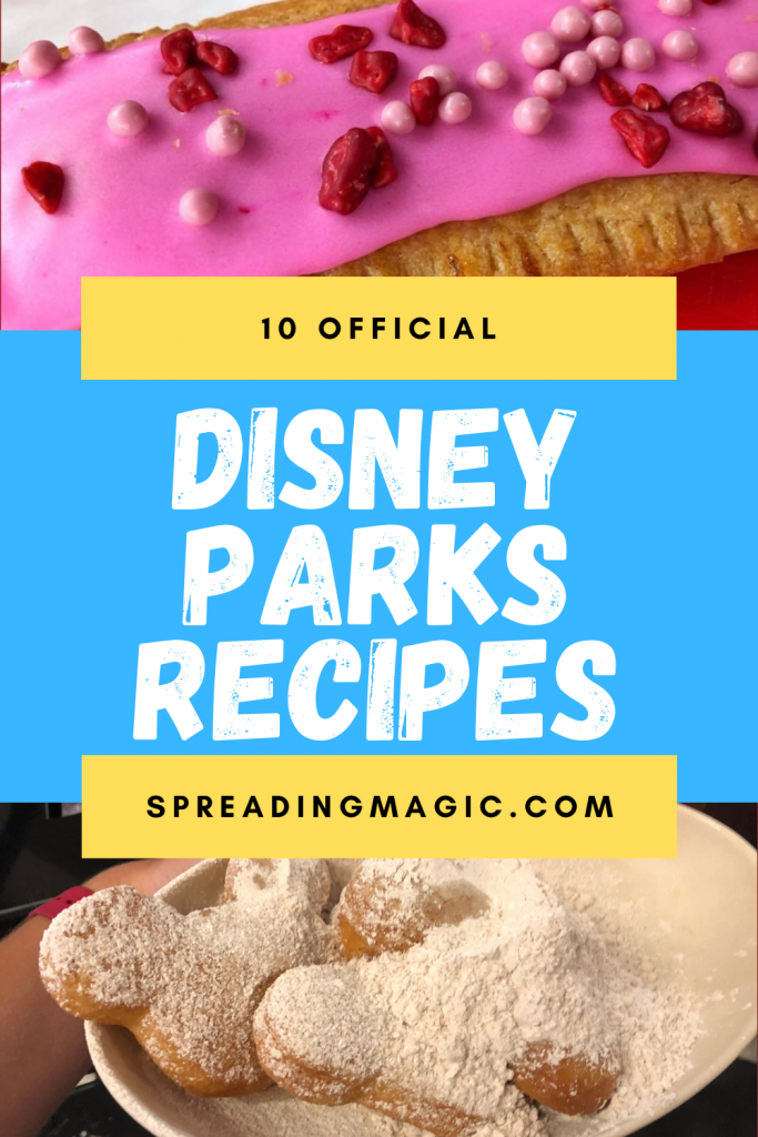 Disney Parks recipes