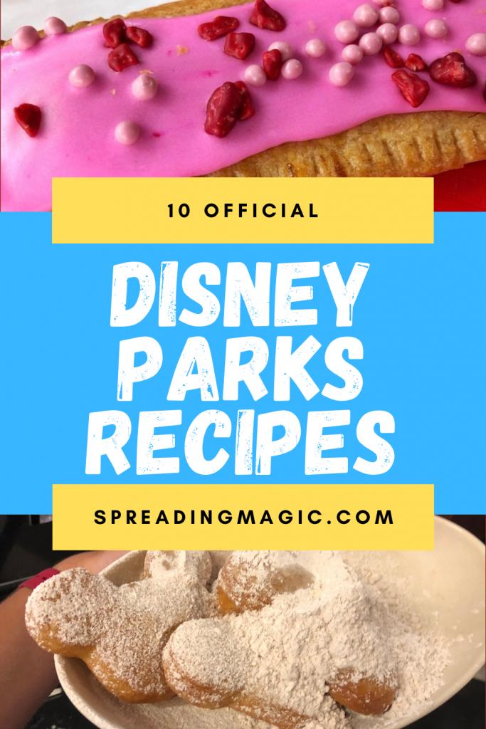 Disney Parks recipes