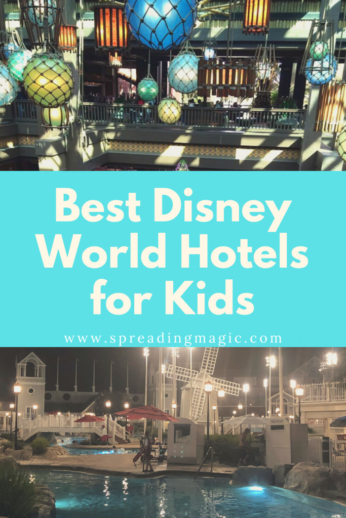 Best Disney Resorts for Kids and Families at Disney World
