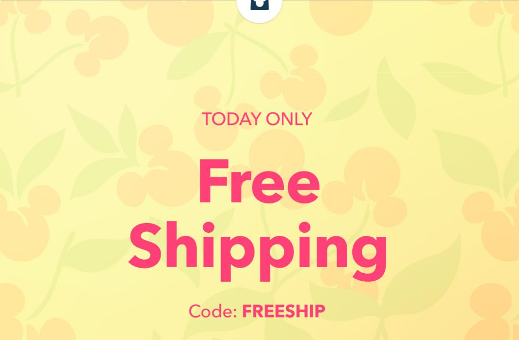 Enjoy Free Shipping at ShopDisney on June 2, 2020