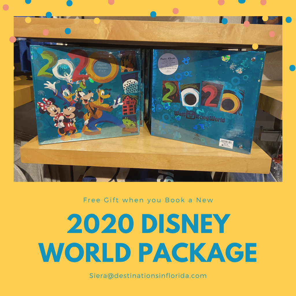 Free Gift when you book a 2020 Disney World Vacation Package