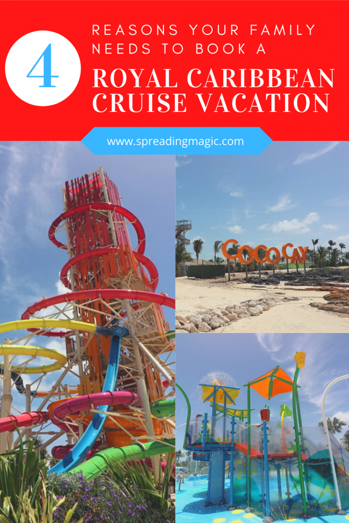 4 reasons your family needs to book a Royal Caribbean cruise vacation
