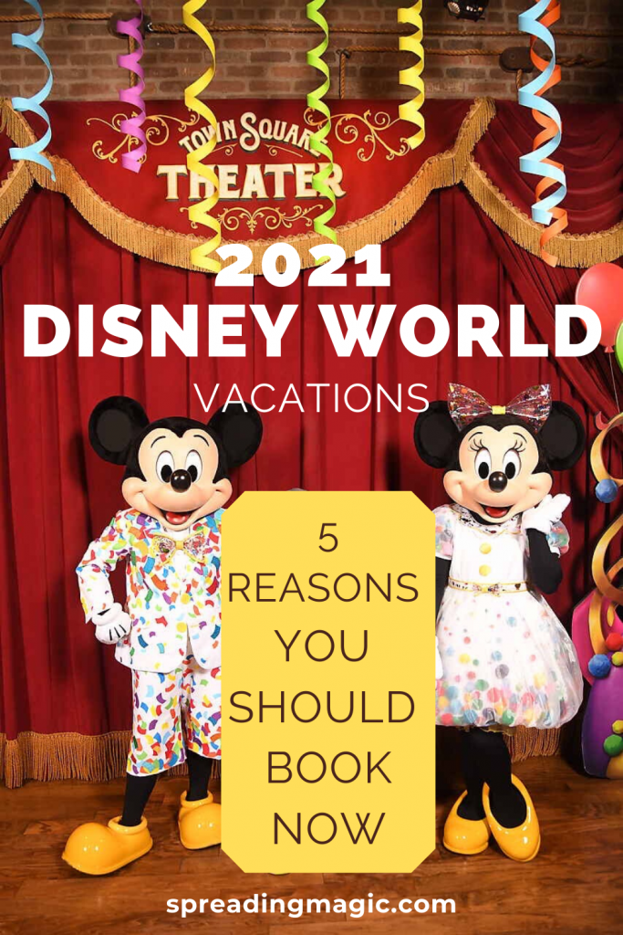 2021 Disney World vacation packages
