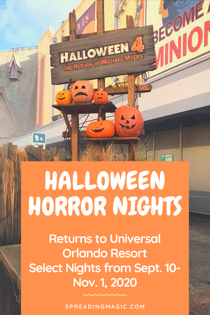 Halloween Horror Nights 2020