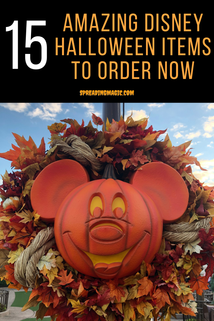 15 Amazing Disney Halloween Items You Probably Need to Order Right Now