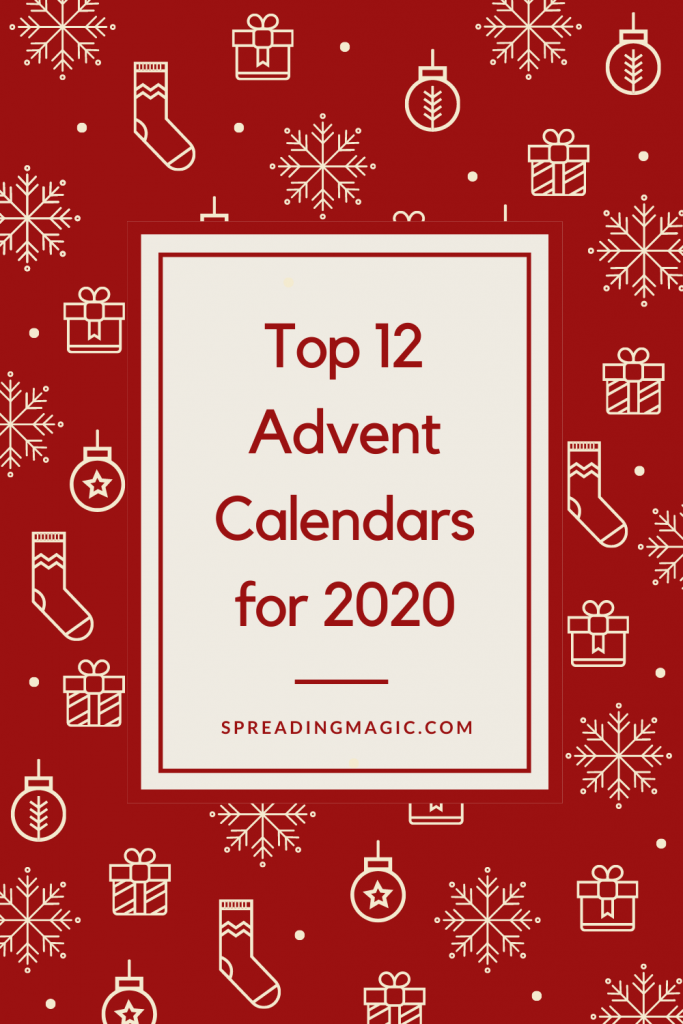 Top 12 Advent Calendars for 2020