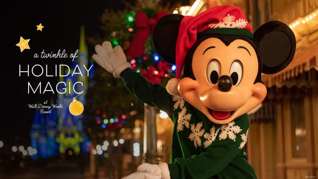 2020 Holiday Season at Disney World Kicks Off November 6