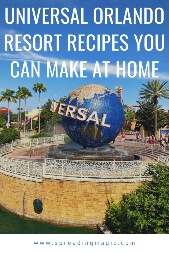 Four Universal Orlando Resort Recipes to Make at Home