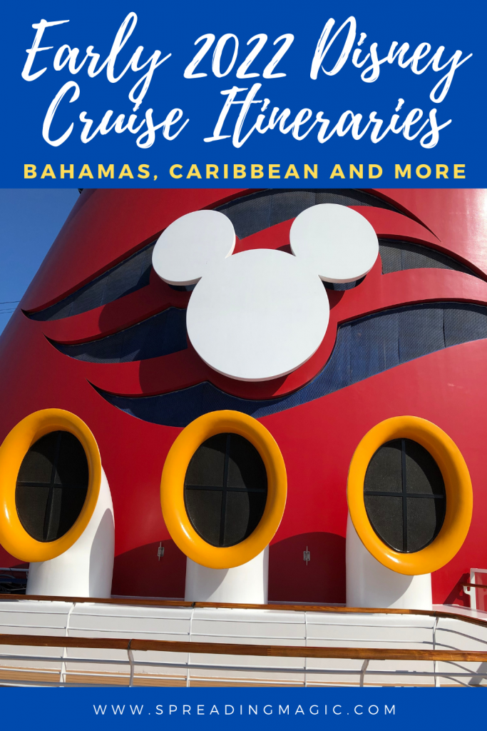 Early 2022 Disney Cruise Line Vacations Available Beginning October 22, 2020
