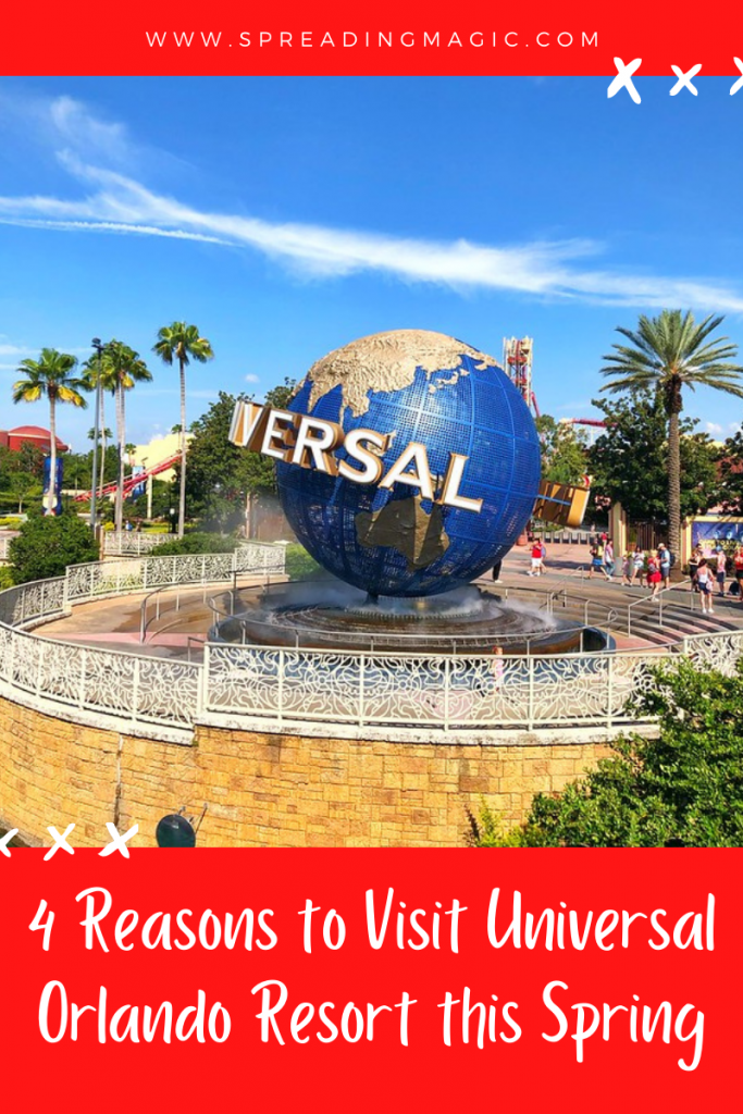 Top 4 Reasons to Visit Universal Orlando Resort This Spring